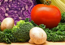 Vegetables. Shallow Depth of Field Royalty Free Stock Images