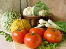 Vegetables. Fresh vegetables Royalty Free Stock Photos