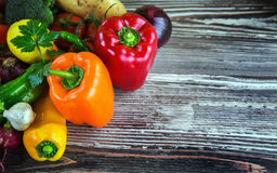 Vegetables. All vegetables are  together photo Stock Images