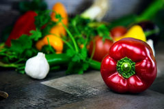 Vegetables All Together. In White Background Photo Royalty Free Stock Photos