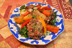 Vegetables&meat Immagine Stock