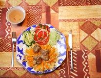 Vegetables&meat lizenzfreie stockfotografie