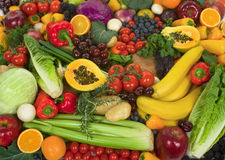Free Vegetables And Fruits Stock Photo - 4104330