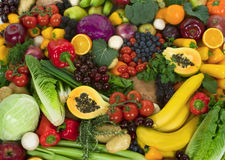 Free Vegetables And Fruits Royalty Free Stock Photography - 4252547