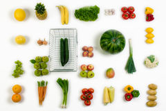 Free Vegetables And Fruits Royalty Free Stock Images - 5682589