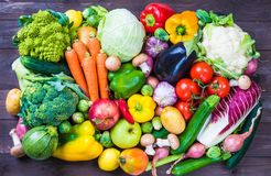 Vegetables And Fruits. Royalty Free Stock Photos