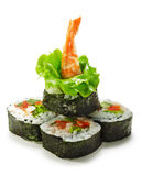 Vegetables And Shrimp Roll Royalty Free Stock Image