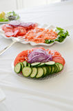 Vegetables appetizers Royalty Free Stock Photos