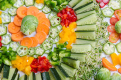 Vegetables Arrangement Royalty Free Stock Image