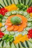 Vegetables Arrangement Royalty Free Stock Images