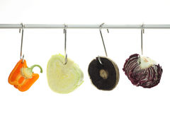 Vegetables as meat Stock Photography