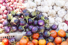 Vegetables in Asian market Stock Photo