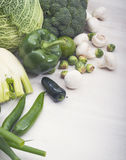 Vegetables assortiment Royalty Free Stock Photo