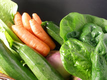 Vegetables assortment Stock Photography