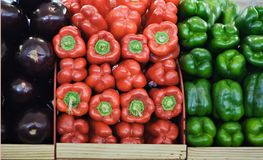 Vegetables At Market Royalty Free Stock Photography