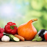 Vegetables in autumn Royalty Free Stock Photo