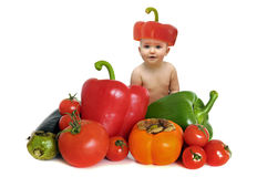 Vegetables baby Stock Photography