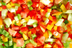 Vegetables background stock photography
