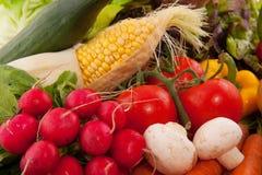 Vegetables background stock image
