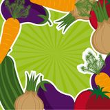Vegetables background Stock Photo