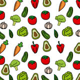 Vegetables background Stock Images