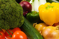 Vegetables background Royalty Free Stock Photos