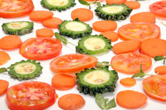 Vegetables background Stock Photos