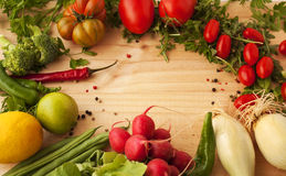 Vegetables.background. Стоковые Изображения