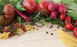 Vegetables.background. Стоковое Изображение