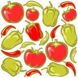 Vegetables background royalty free illustration