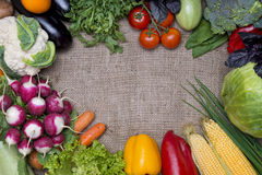 Vegetables background Royalty Free Stock Photography