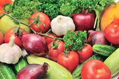 Vegetables background Royalty Free Stock Images
