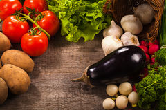 Vegetables background Royalty Free Stock Image