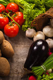 Vegetables background Stock Images