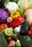 Vegetables background variety Royalty Free Stock Images