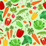 Vegetables background for vegetarian menu and Stock Photography