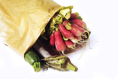 Vegetables in a bag Royalty Free Stock Image