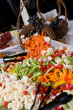 Vegetables at a banquet Royalty Free Stock Photography