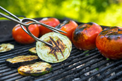 Vegetables barbecue Stock Photo