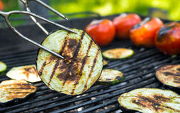 Vegetables barbecue Royalty Free Stock Photo
