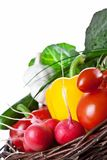 Vegetables Basket Royalty Free Stock Image