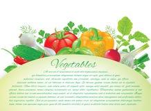 Vegetables board Stock Image