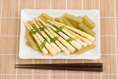 Vegetables boiled in stock Stock Photo