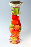 Vegetables in bottle Royalty Free Stock Photo