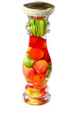 Vegetables in bottle Royalty Free Stock Photos