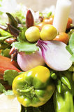 Vegetables bouquet Royalty Free Stock Photo