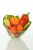 Vegetables in a bowl Stock Images