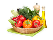 Vegetables in bowl Royalty Free Stock Image