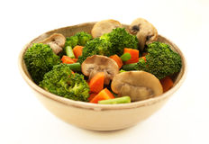 Vegetables bowl Royalty Free Stock Image