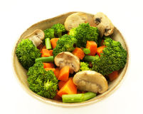 Vegetables bowl. Royalty Free Stock Photo